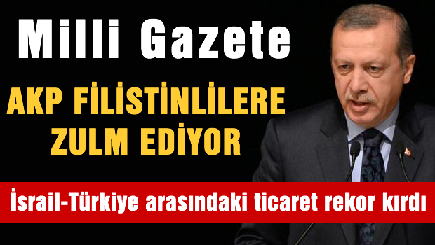 Milli Gazete'den AK Parti'ye sert manşet