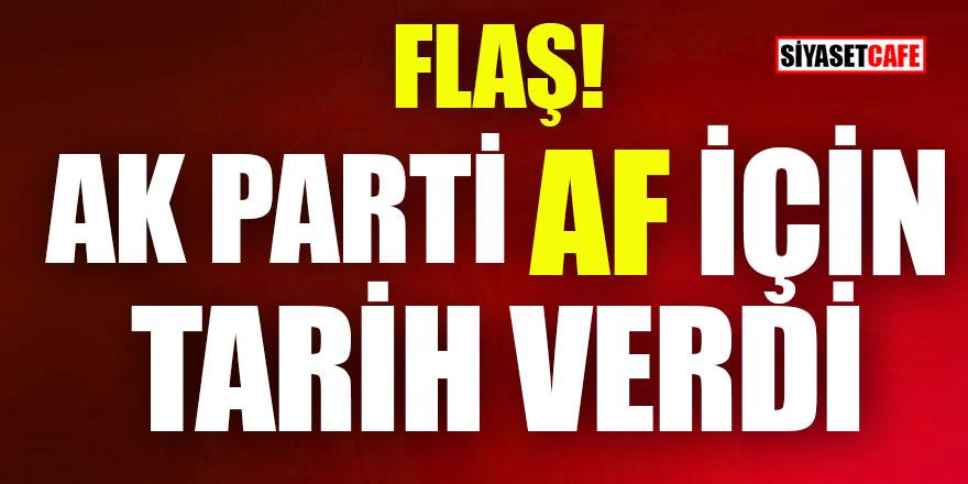 AK Parti yargı reformu için tarih açıkladı!