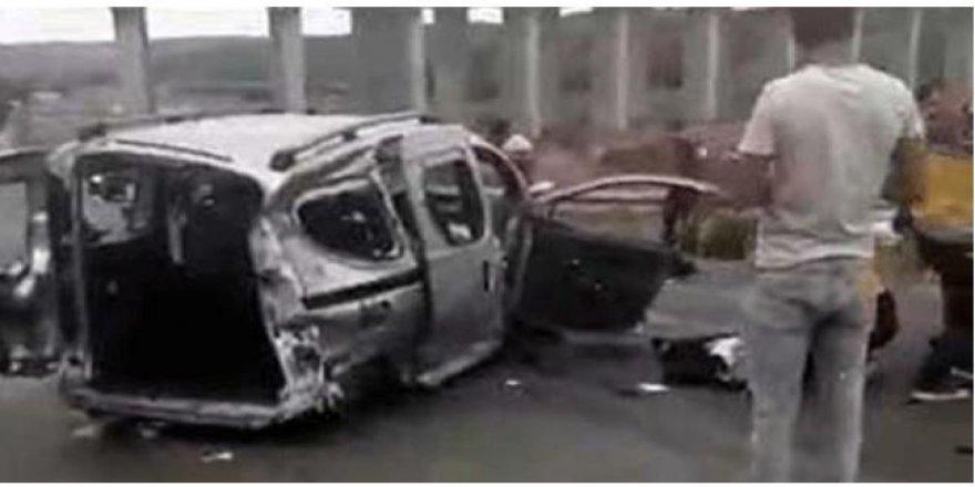 Otoyol'da zincirleme kaza; Ölü ve yaralılar var