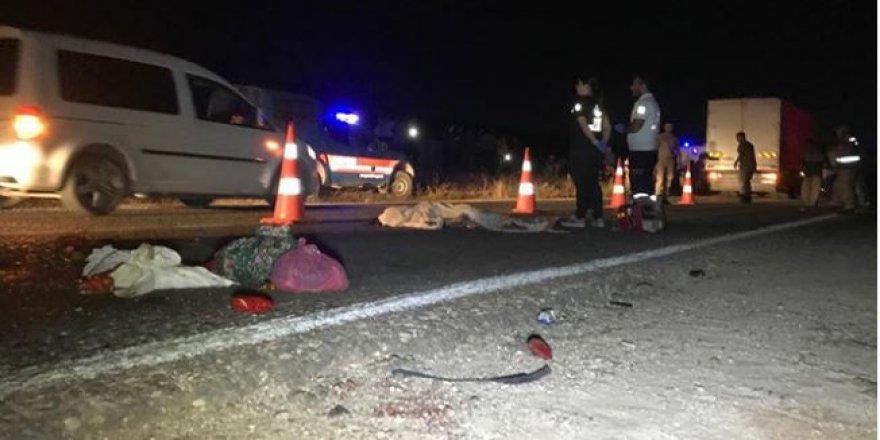 Gaziantep'te feci kaza; Ölü ve yaralılar var!