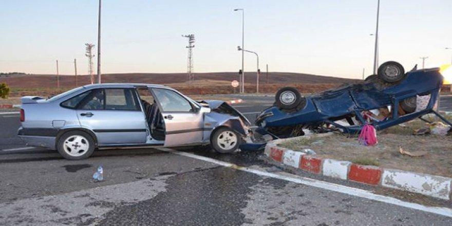 Kayseri'de feci kaza, 8 yaralı var.
