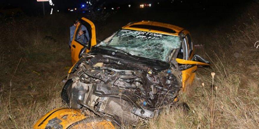 Kastamonu'da feci kaza, 2 ölü 3 yaralı