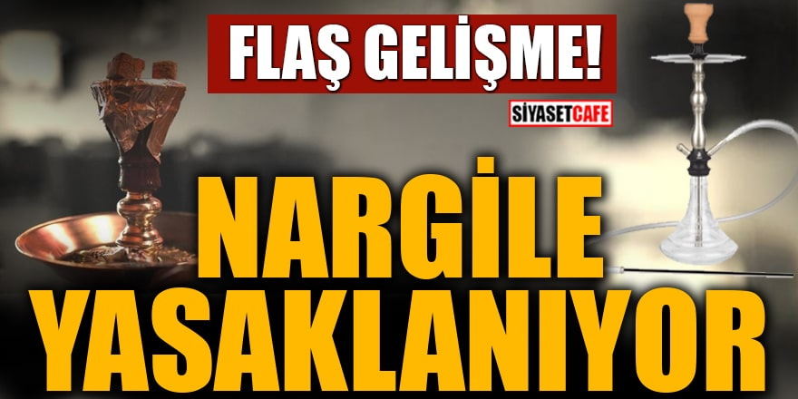 Cumhurbaşkanı Erdoğan'dan 'nargile' mesajı: Yasaklanıyor