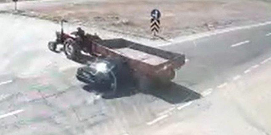Afyonkarahisar'da 2 kişinin öldüğü feci kaza kameralarda