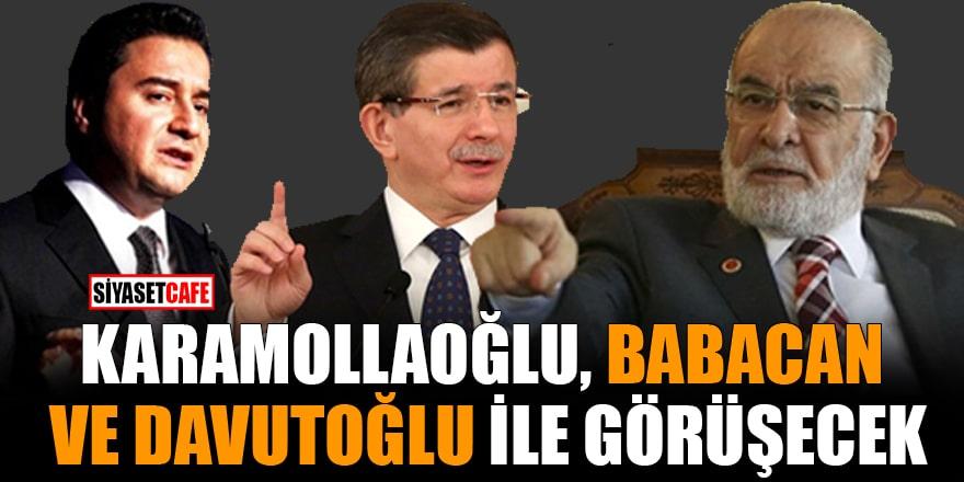 Karamollaoğlu, Babacan ve Davutoğlu ile görüşecek