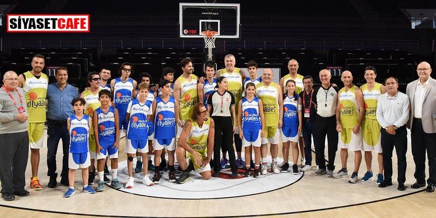 Diyabetli çocukların basket heyecanı