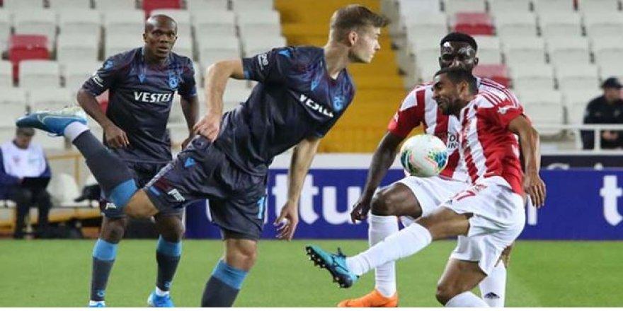 Sivasspor, Trabzonspor maçı kaç kaç bitti?