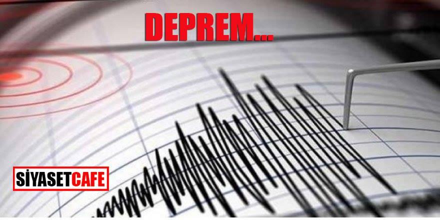 Kahramanmaraş'ta korkutan deprem! Çevre illerden hissedildi