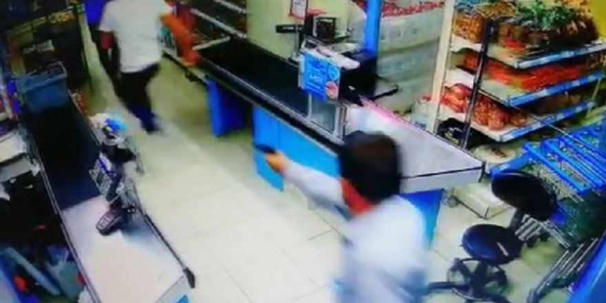 Son dakika… Markette silahlı çatışma