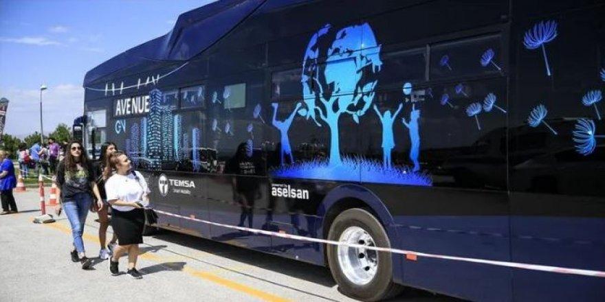 Aselsan'ın yerli elektrikli otobüsleri hizmete hazır