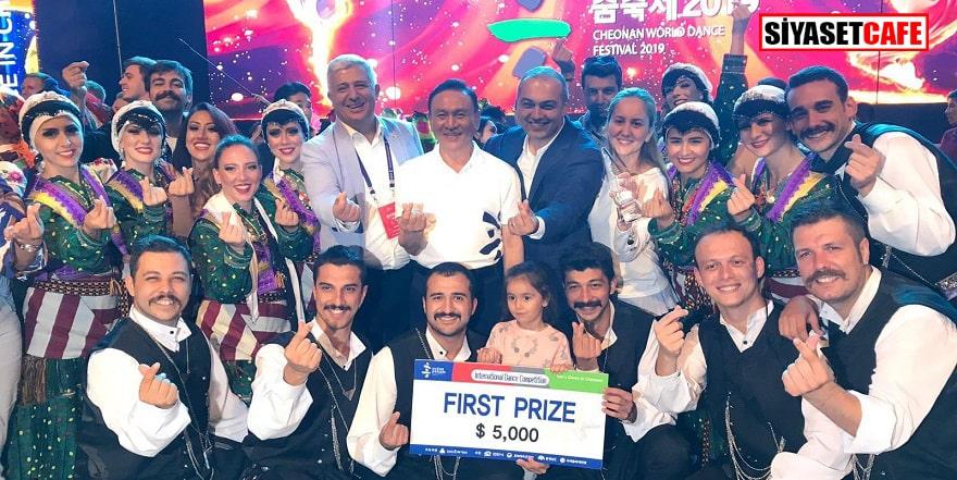 Türk Halk Oyunları Topluluğu dünya birincisi