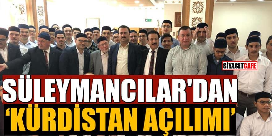 Suudilerin aldığı İngiliz Independent gazı verdi: Süleymancılar'dan 'Kürdistan açılımı'