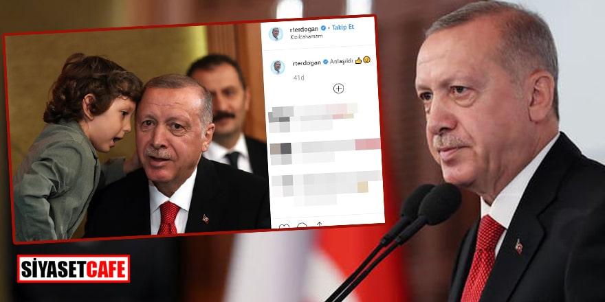 Erdoğan'ın İnstagram paylaşımı beğeni rekoru kırdı!