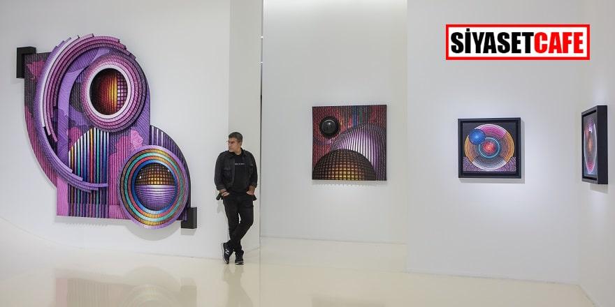 Türk sanatçı Güneştekin'in sergisi Bakü'de