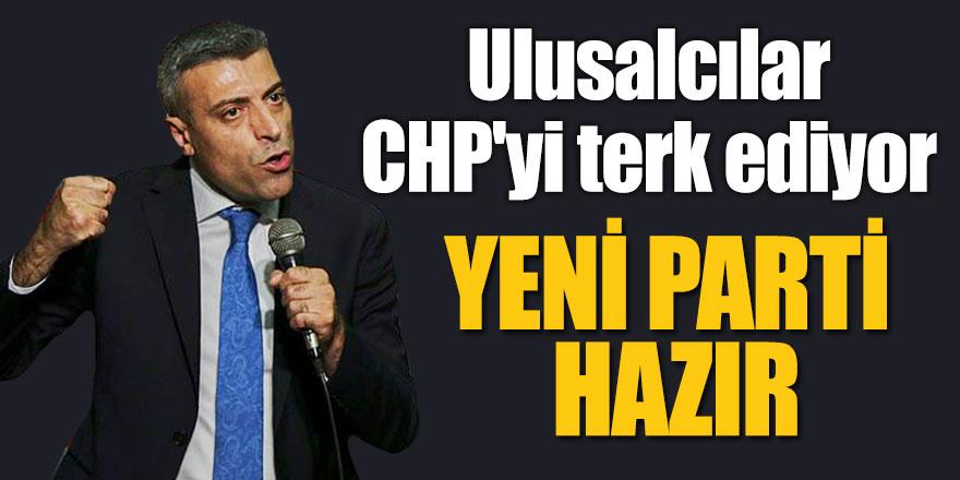 Ulusalcılar CHP'yi terk ediyor: Öztürk Yılmaz parti kuruyor!