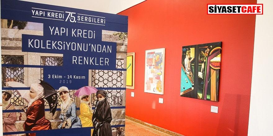 Renkler sergisi Ankara'da