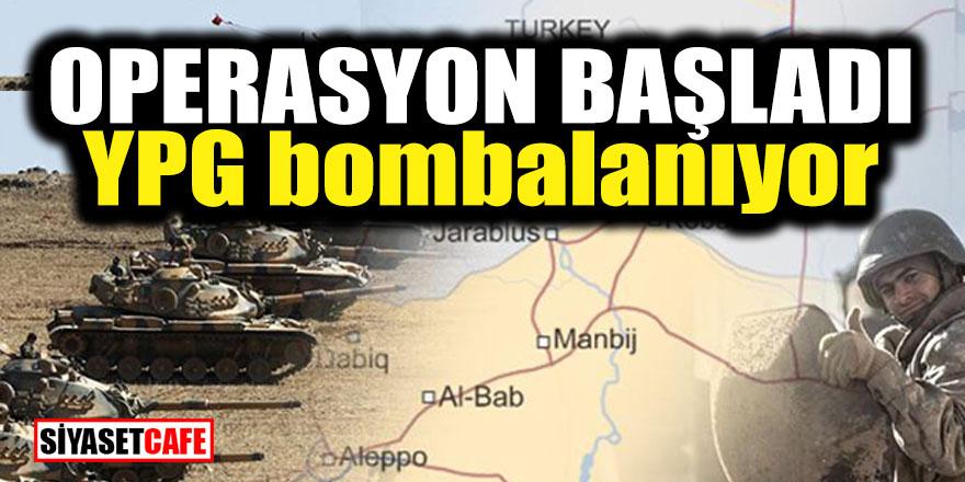 Operasyon başladı! YPG bombalanıyor