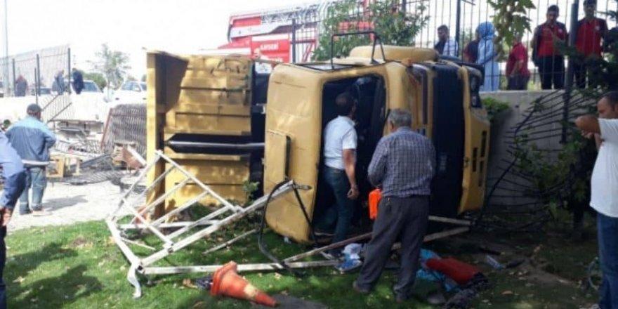 Kayseri'de kamyon dehşeti: Çok sayıda yaralı var
