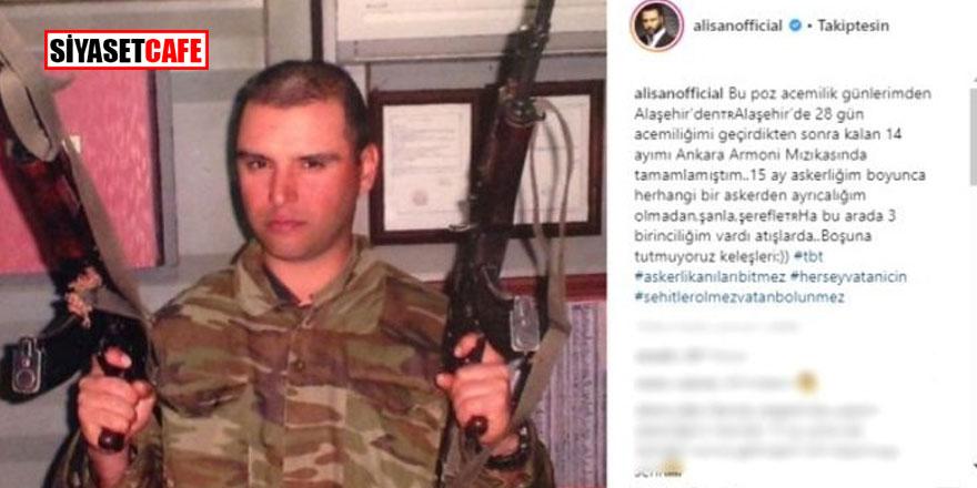 """Alişan'ın """"Mehmetçik"""" paylaşımı alay konusu oldu!"""