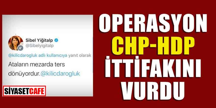Operasyon CHP-HDP ittifakını vurdu