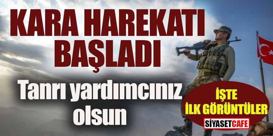 Barış pınarı Kara harekatı başladı: Mehmetçik sınırdan geçti