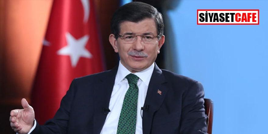 Davutoğlu'ndan Barış Pınarı'na destek