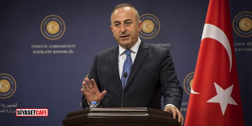 """Son Dakika! Çavuşoğlu: """"YPG, DEAŞ'lıları elinde silah olarak tutuyor"""""""
