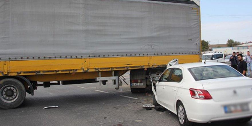 Tekirdağ'da feci kaza: 5 yaralı var