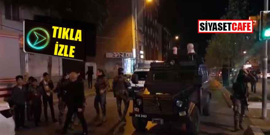 Esenyurt'ta polisle çatışma: Yaralılar var