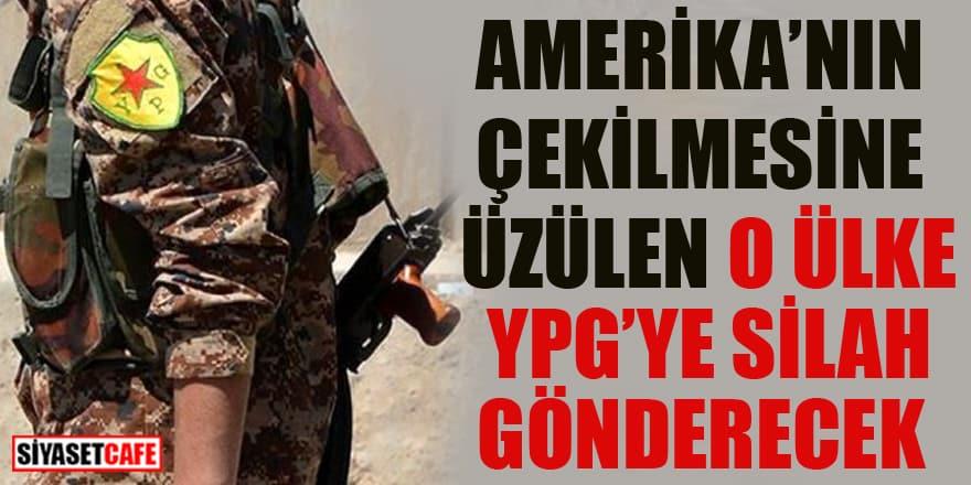 Amerika'nın çekilmesine üzülen o ülke YPG'ye silah gönderecek
