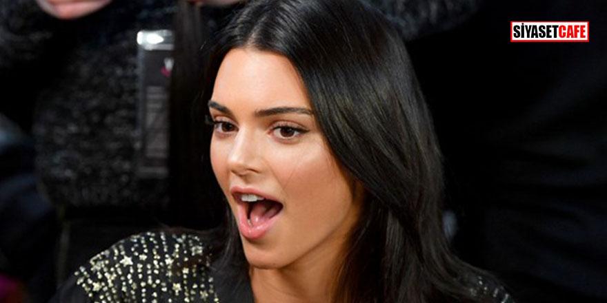 Kendall Jenner banyoda çıplak poz verdi