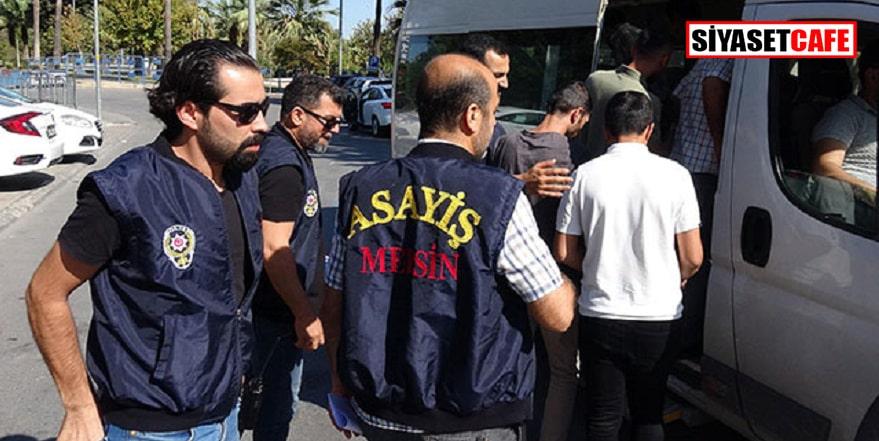 Mersin'de kumar baskını: Çok sayıda gözaltı var