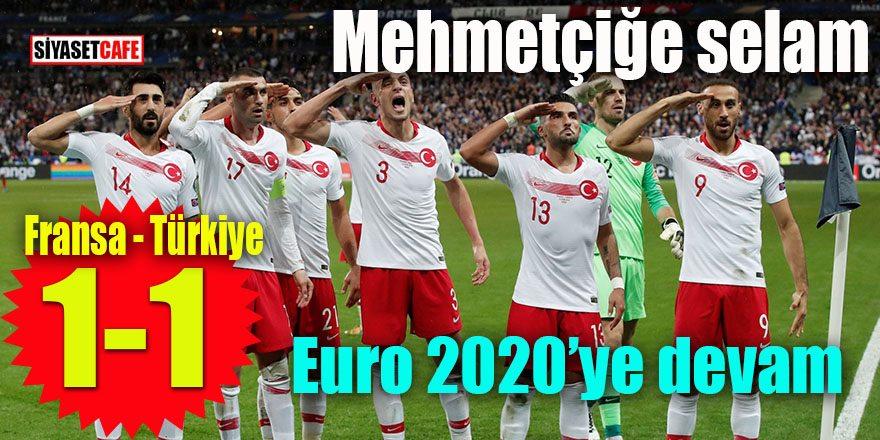 Mehmetçiğe selam 2020'ye devam: Fransa 1 Türkiye 1