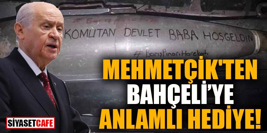 Mehmetçik'ten Bahçeli'ye anlamlı hediye!