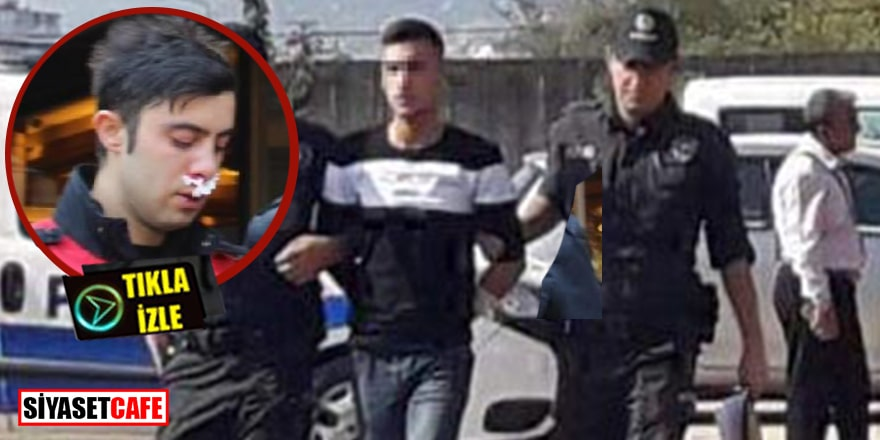 Polise yumruk atan maganda ceza evini boyladı