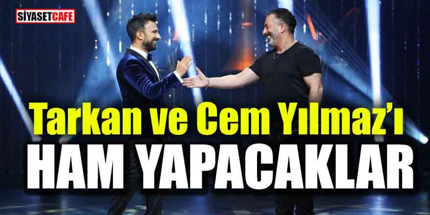 """Ahmet Hakan; """"Tarkan ve Cem Yılmaz'ı ham yapacaklar"""""""