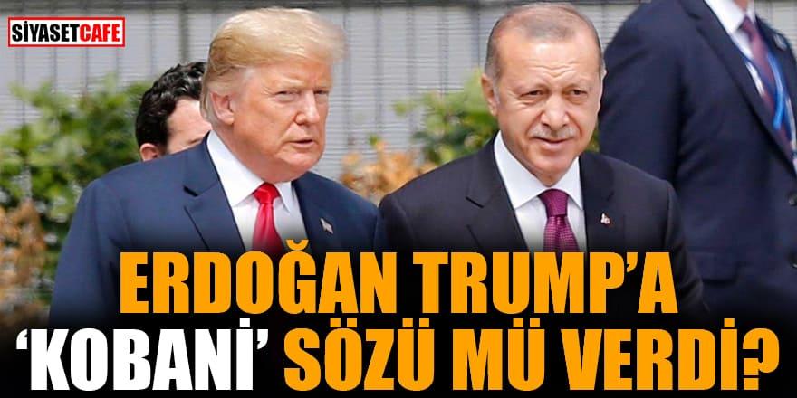 Erdoğan Trump'a 'Kobani' sözü mü verdi?