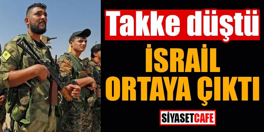 Takke düştü İsrail ortaya çıktı