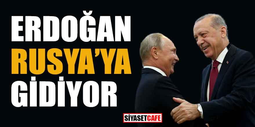 Ve tarih belli oldu! Erdoğan Rusya'ya gidiyor