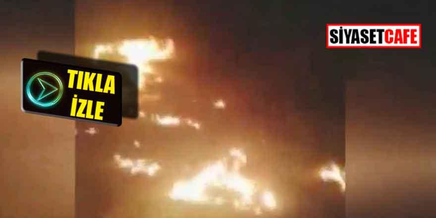 Umre otobüsü alev alev yandı: 30 ölü var