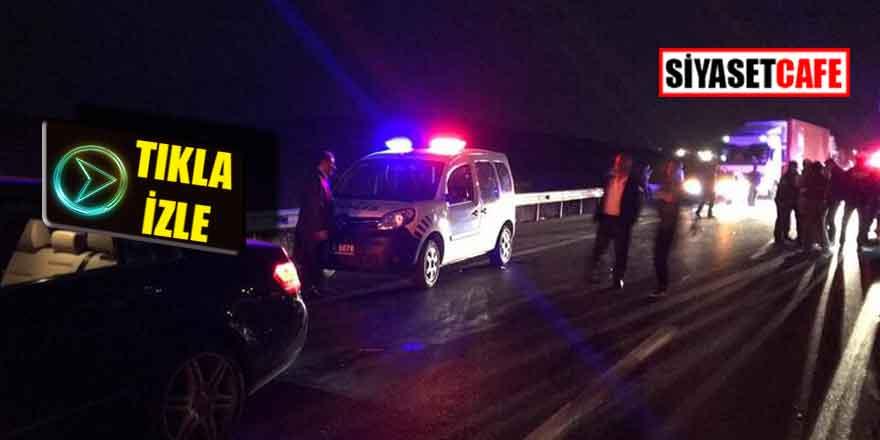 Konya'da feci kaza: 13 yaralı