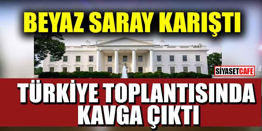 Beyaz Saray karıştı: Türkiye toplantısında kavga çıktı