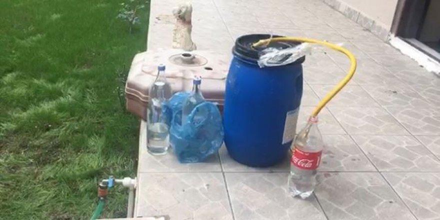 Tekirdağ'da kaçakçılara baskın: 1 ton içki ele geçirildi