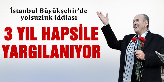 Kadir Topbaş'a 3 yıl hapis isteniyor