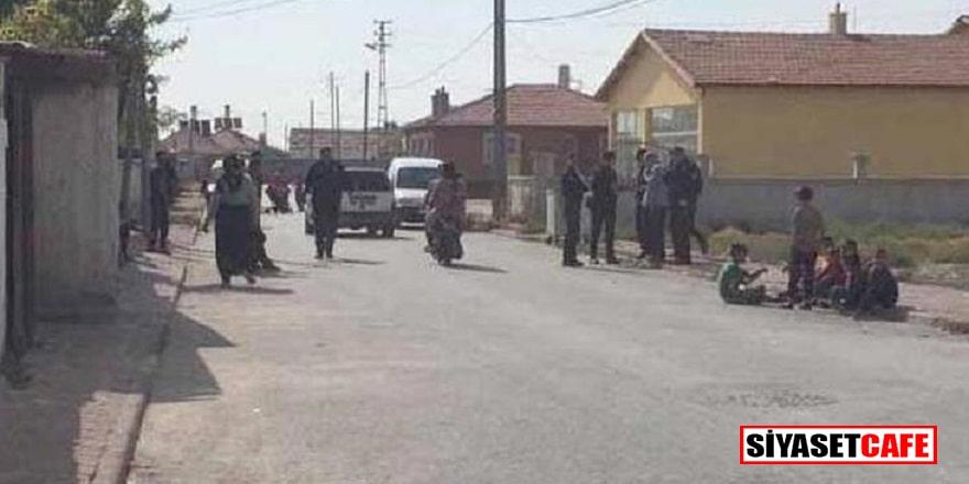 Konya'da komşular birbirine girdi: 3 çocuk 1 kadın yaralandı