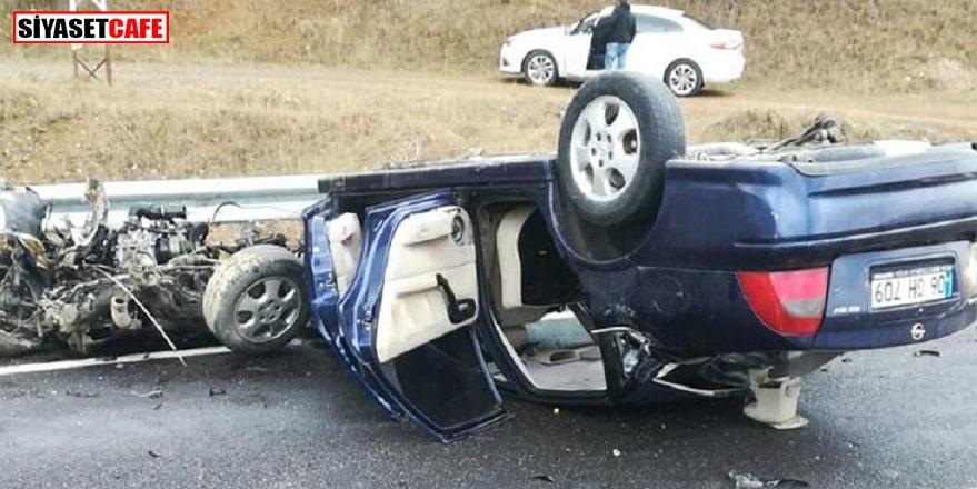 Gümüşhane'de feci kaza: 3'ü çocuk 5 kişi…