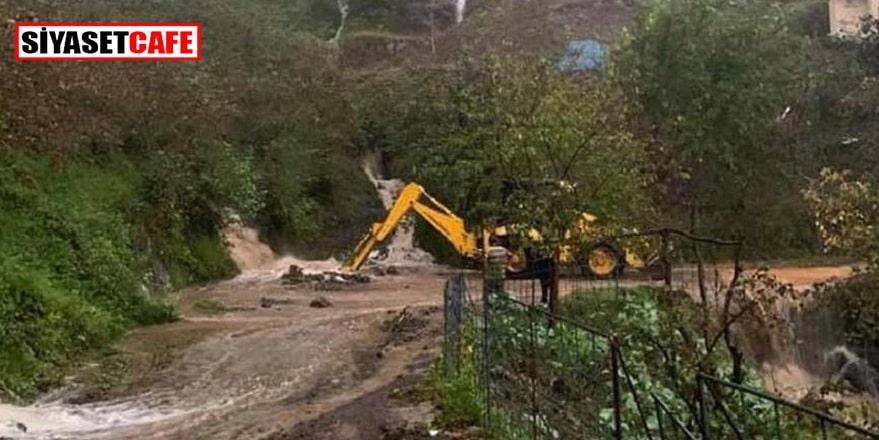Giresun'u sel vurdu: 1 kişi kayıp