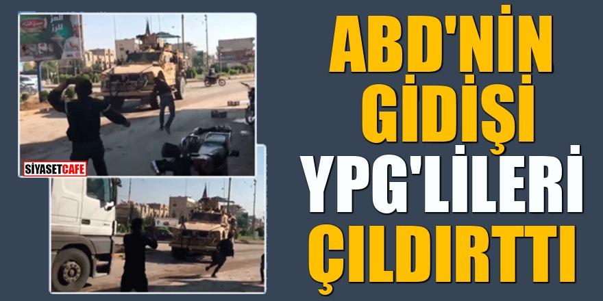 ABD'nin gidişi YPG'lileri çıldırttı!