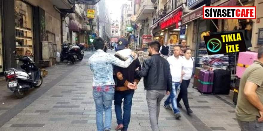 İstanbul'da bomba alarmı! 'Çantamda bomba var' deyip kaçtı