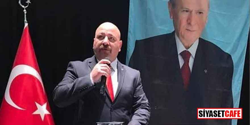 MHP İlçe Başkanı yanlışlıkla kendini vurdu